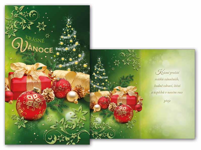 Přání Vánoční malé V23-103 Z