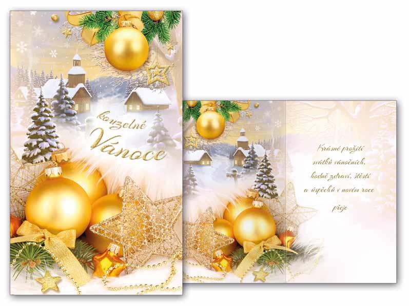 Přání Vánoční malé V23-104 Z