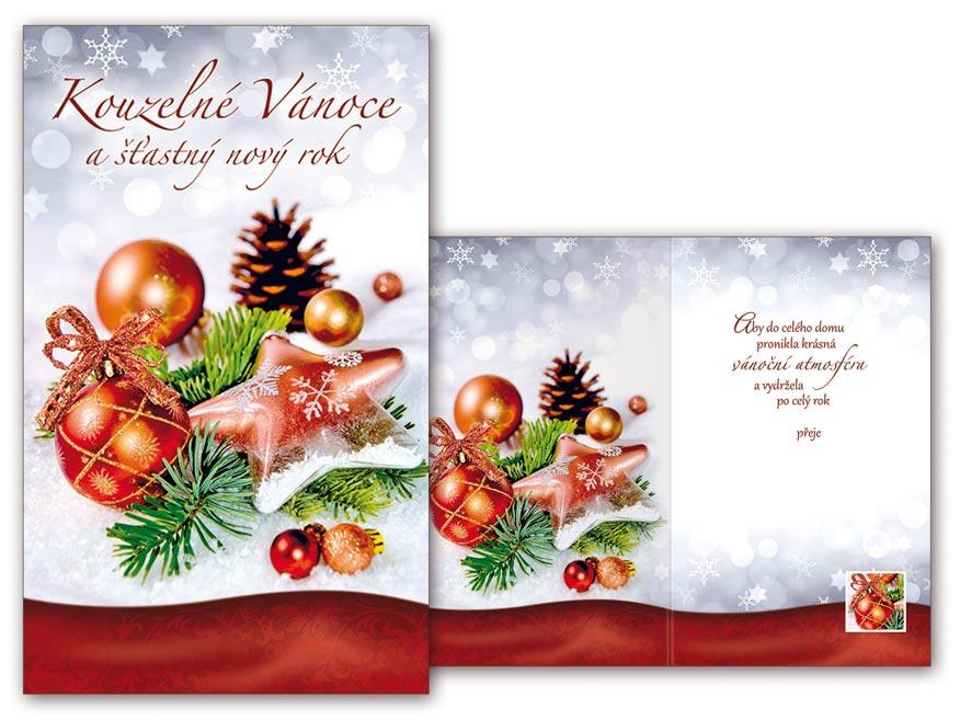 Přání Vánoční malé V23-106 Z