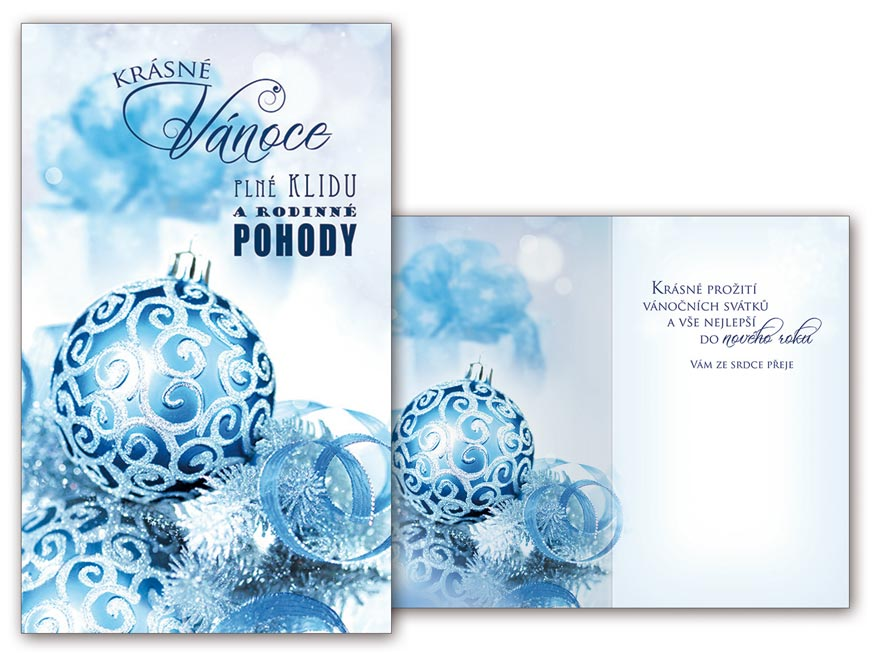 Přání Vánoční malé V23-109 Z