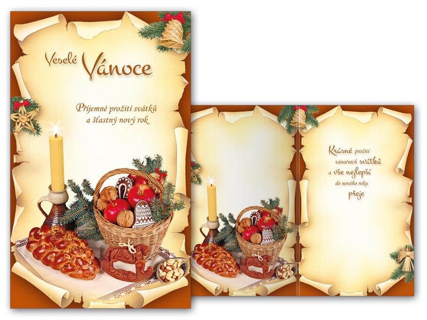 Přání Vánoční malé V23-115 Z