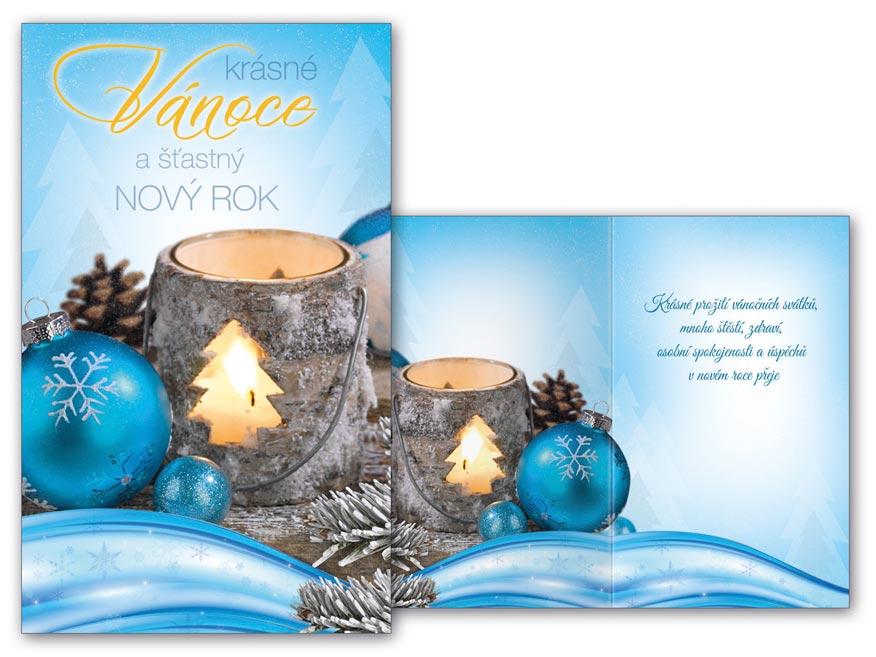Přání Vánoční malé V23-116 Z