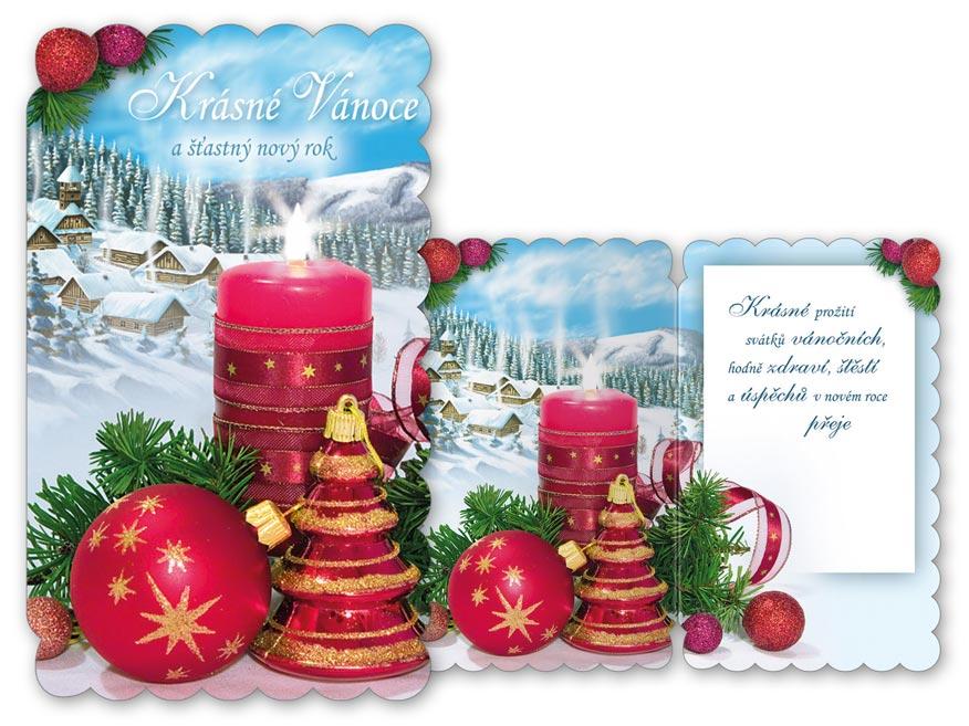 Přání Vánoční malé V23-118 Z
