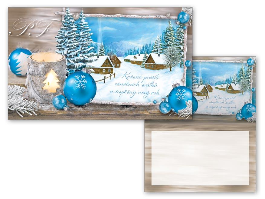 Přání Vánoční malé V23-119 Z