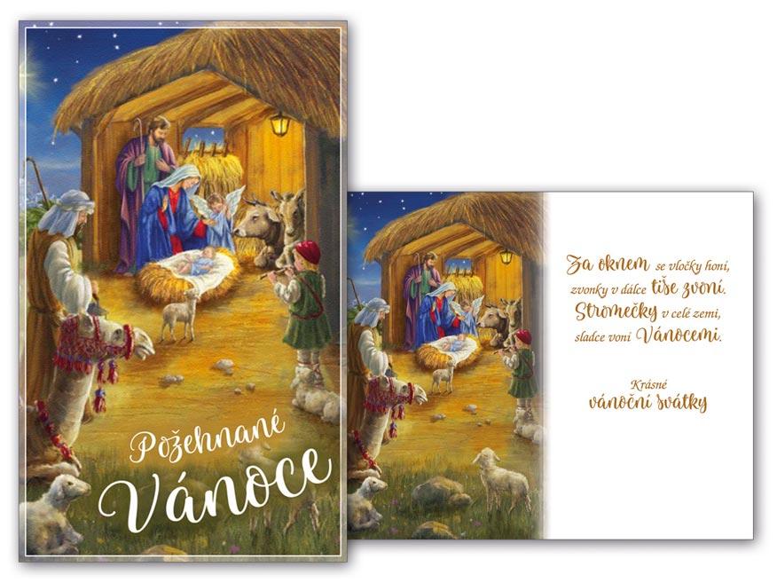 Přání Vánoční malé V23-123 Z