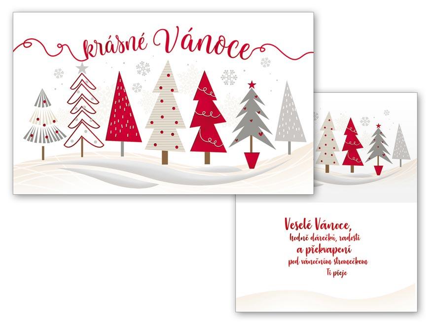 Přání Vánoční malé V23-125 Z