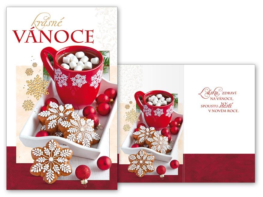 Přání Vánoční malé V23-126 Z