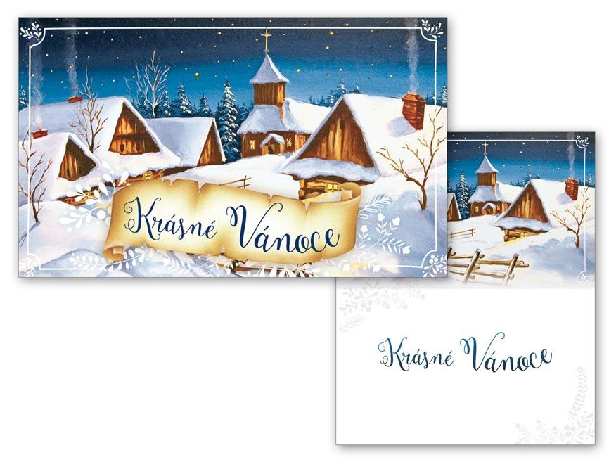 Přání Vánoční malé V23-128 Z