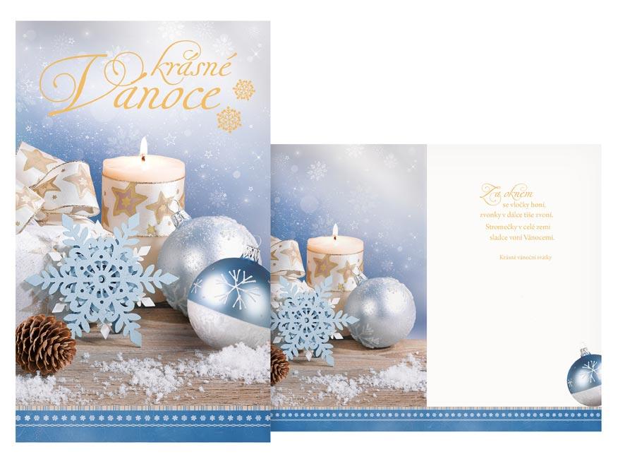 Přání Vánoční malé V23-137 Z