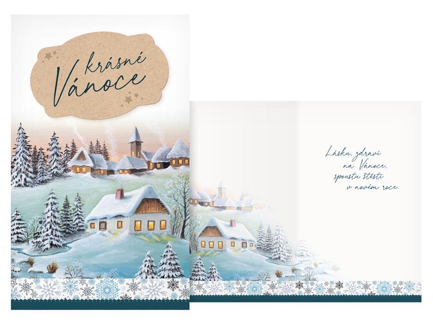Přání Vánoční malé V23-138 Z