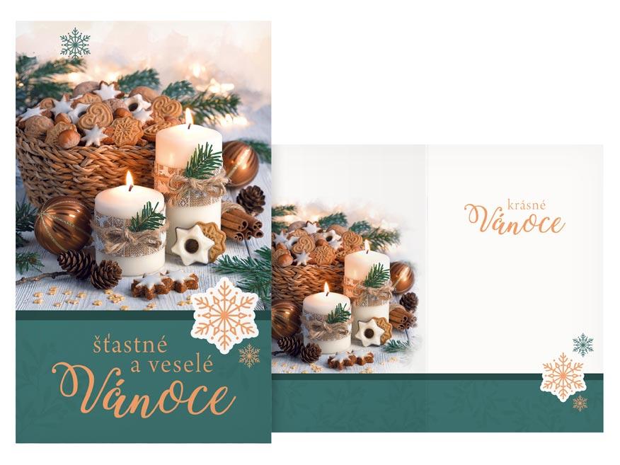 Přání Vánoční malé V23-139 Z