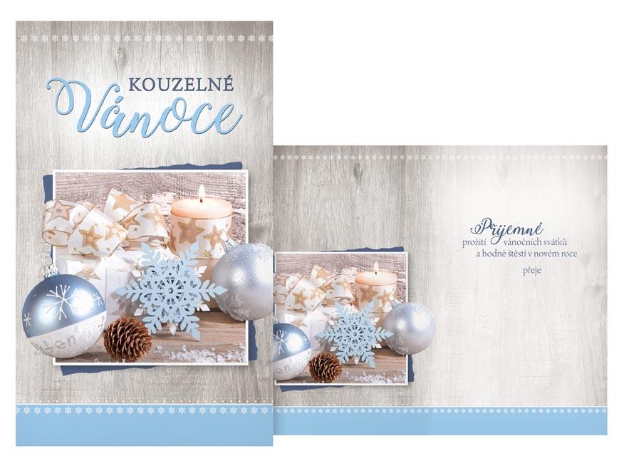 Přání Vánoční malé V23-141 Z
