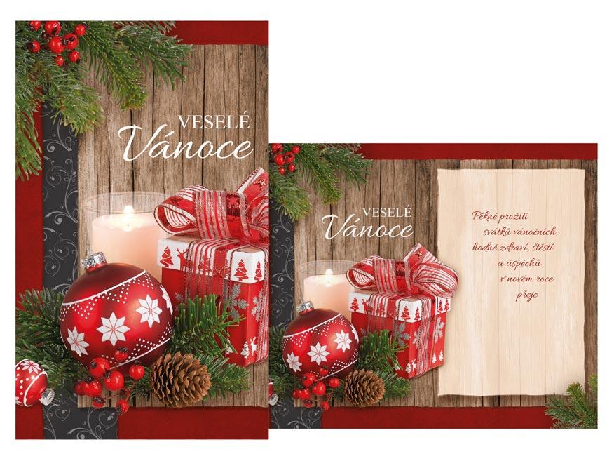 Přání Vánoční malé V23-143 Z