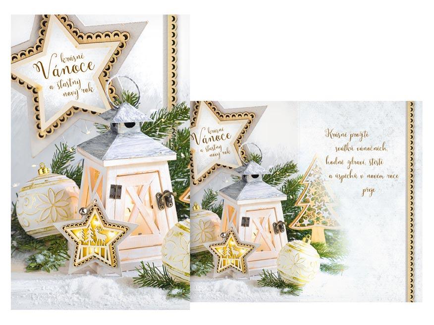 Přání Vánoční malé V23-145 Z