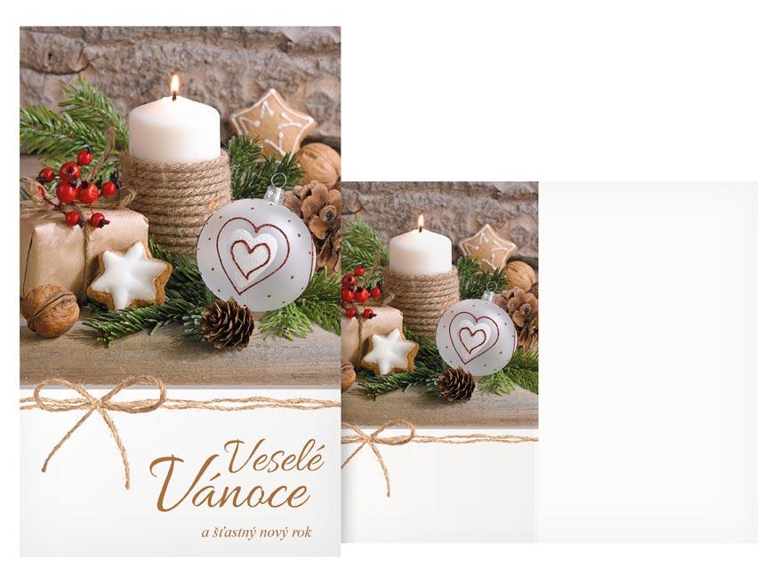 Přání Vánoční malé V23-146 Z