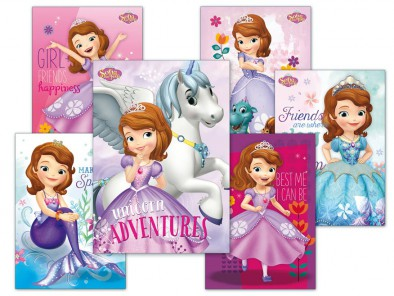 MFP pohlednice sr Y023 F Disney (Sofia the First) UV