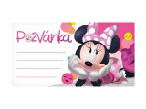 Pozvánka Y14 Disney Minnie (10ks) (190x100mm)